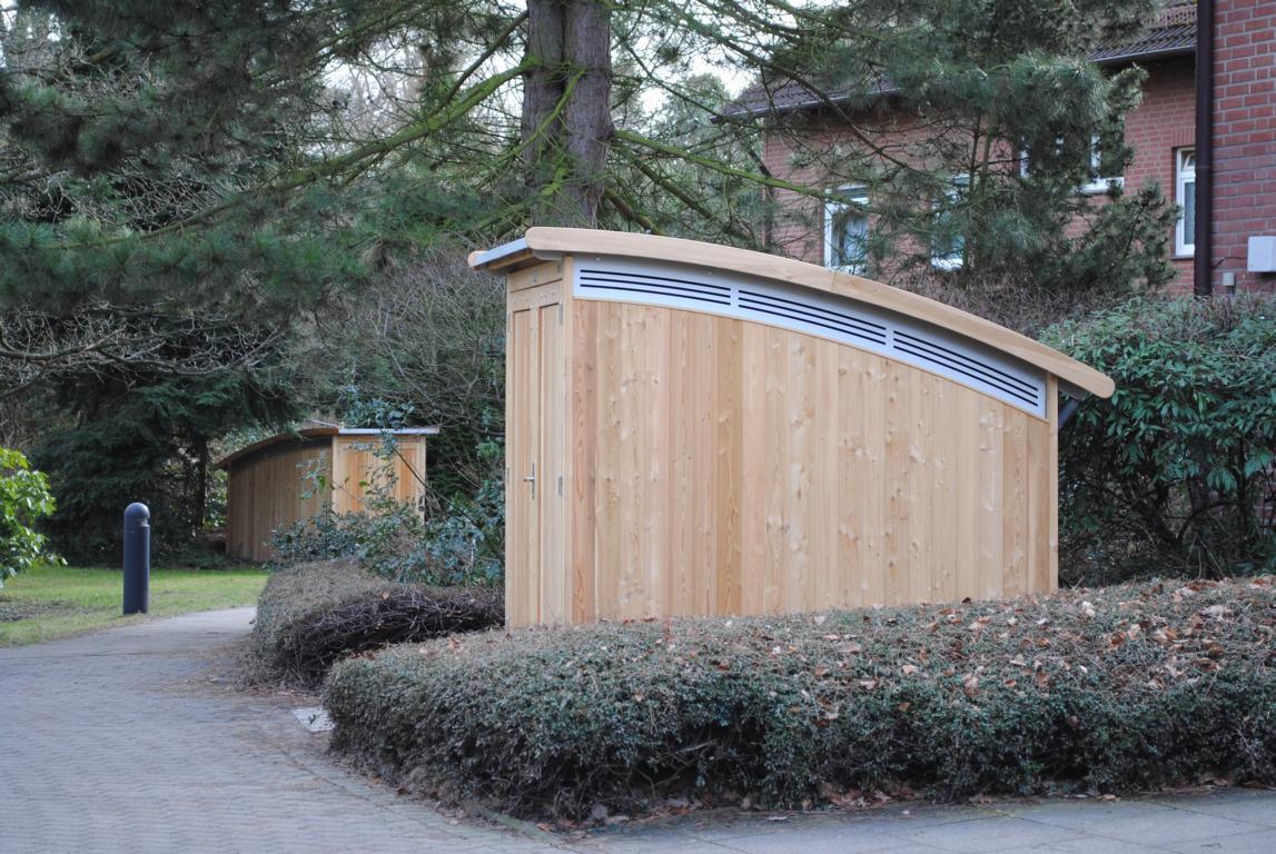 Designer gartenhaus zweiradgarage - Designer gartenhaus ...