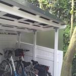 Bikeport - Unterstellplatz für Fahrräder