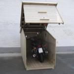 Motorradgarage praktische Garage für Motorräder